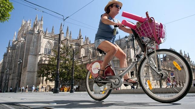 Sevilla, una ciudad en bicicleta