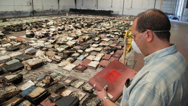 La investigación apunta a que el incendio en el archivo de Los Palacios fue fortuito