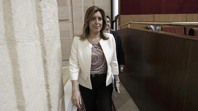 Susana Díaz en el Parlamento