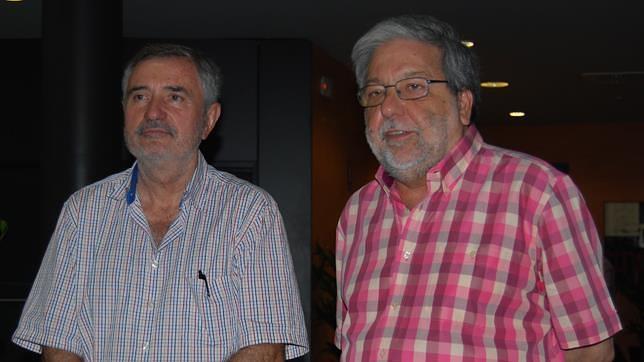 Luis Naranjo y Francisco Toscano