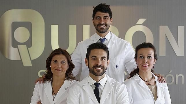 Equipo de profesionales de la nueva unidad «ObeMetS»