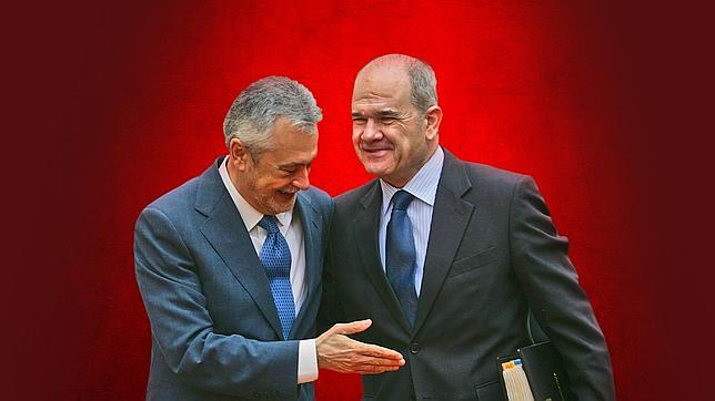 José Antonio Griñán y Manuel Chave