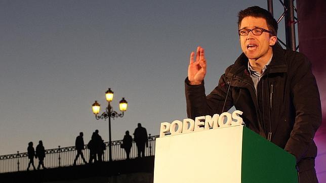 La declaración de bienes de Errejón aparece manipulada en el portal de transparencia de Podemos