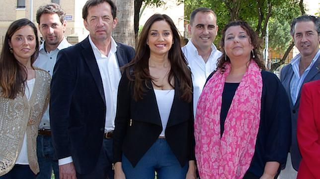 La Miss Sevilla 1991 es la candidata de Ciudadanos a la Alcaldía de Castilleja de la Cuesta