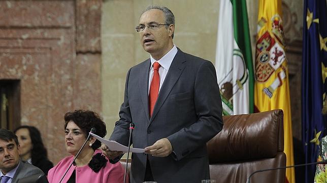 Juan Pablo Durán, durante una de las sesiones de investidura
