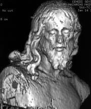 Imagen tridimensional del Nazareno de Los Santos de Maimona