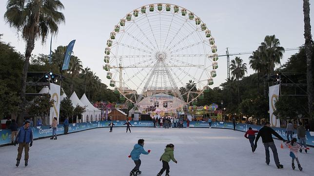El Ayuntamiento organiza en el Prado el Gran Parque de Navidad