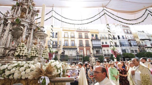 En directo: la procesión del Corpus Christi en abcdesevilla.es