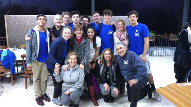 Alumnos de Kentucky durante el torneo de pinfuvote / ABC