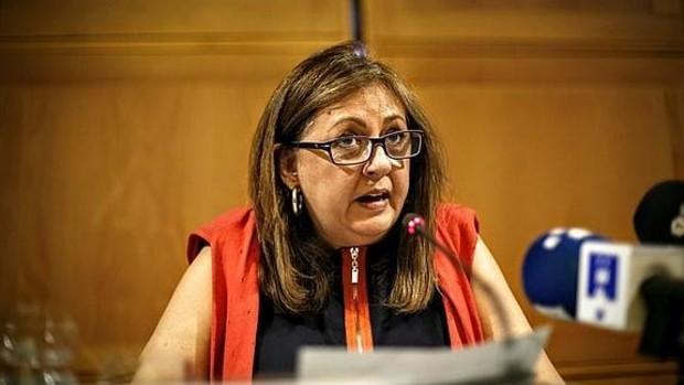 La anterior directora del Patronato de la Alhambra, Mar Villafranca