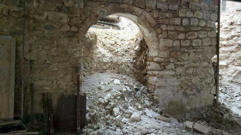 Descubren Un Arco De Medio Punto Renacentista En Villanueva Del Arzobispo