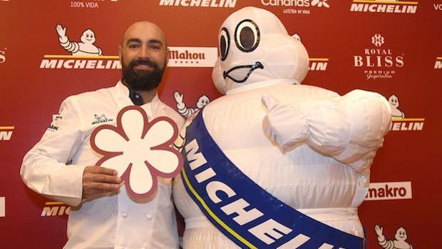 Benito Gómez, tras recibir la estrella Michelin este año