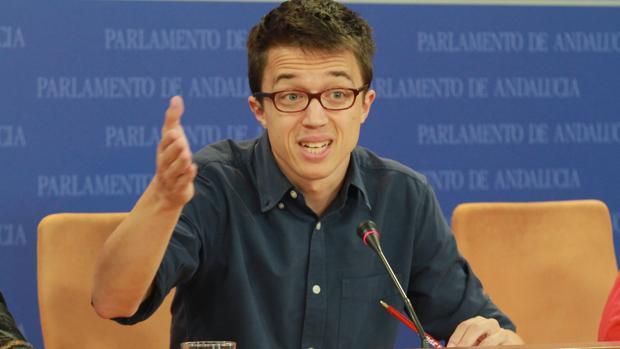 El dirigente de Podemos Íñigo Errejón