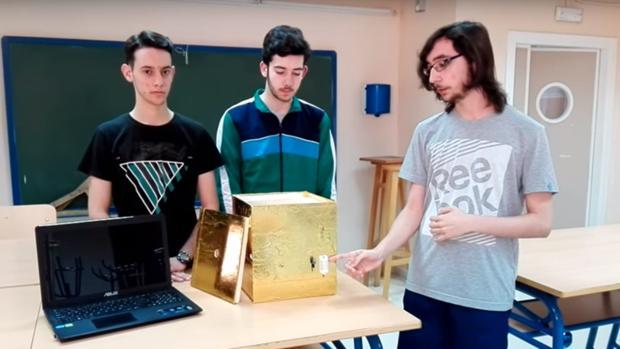 Los alumnos presentan el proyecto en Youtube