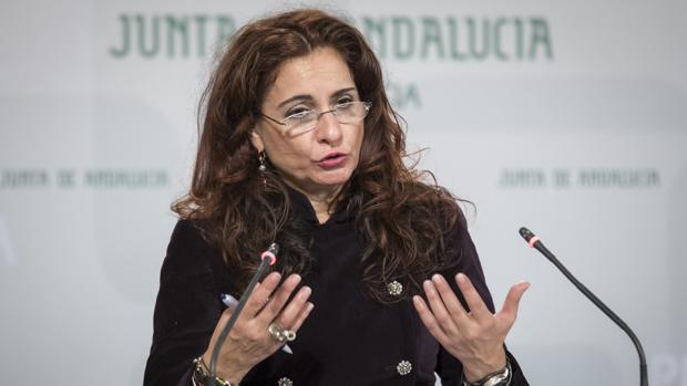 La consejera de Hacienda María Jesús Montero