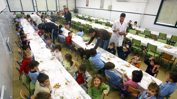 La Junta contratará nuevos comedores escolares para 72 centros ...