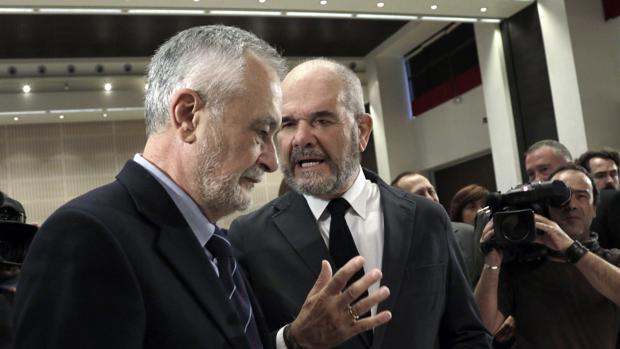 José Antonio Griñán y Manuel Chaves serán juzgados en la pieza política de los ERE