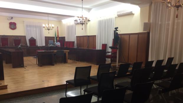 La sala de la Audiencia donde se celebrará el juicio
