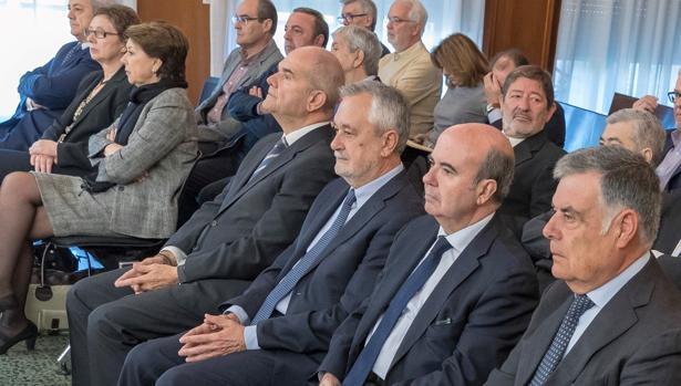 Una escena del juicio de los ERE que se está celebrando en Sevilla