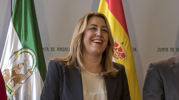 La presidenta andaluza, Susana Díaz, en una imagen reciente