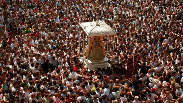 La Virgen del Rocío el Lunes de Pentecostés