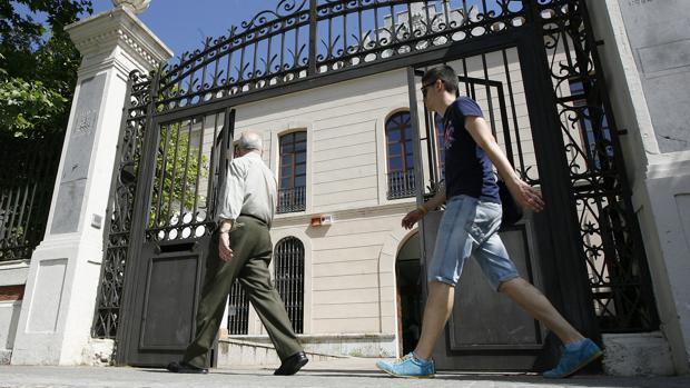Imagen de la entrada a la Gerencia de Urbanismo de Córdoba