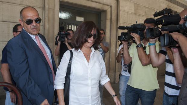 La exsecretaria en la Direccion General de Empleo, Maria Jose Rofa,