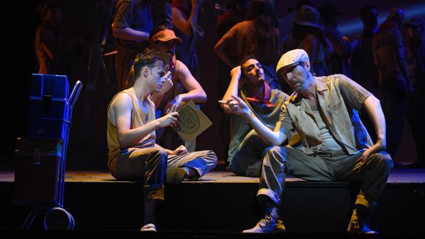 Imagen de la nueva ópera «Fuenteovejuna» que se estrena hoy en el Teatro Campoamor de Oviedo