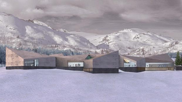 Maqueta original del proyecto, de 2011, que el Gobierno quiere ahora reactivar.