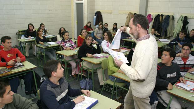 Clases de religión en un colegio de Córdoba