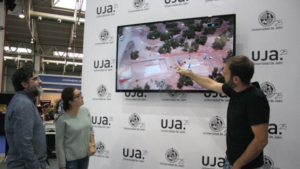 Arqueólogos de la Universidad de Jaén explican el descubrimiento