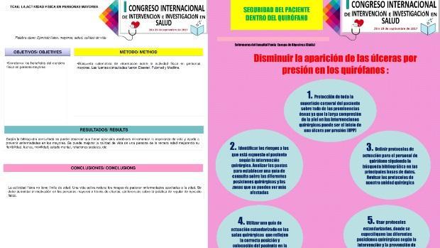Algunos de los muchos ejemplos de pósteres de nulo rigor científico y sin embargo publicados