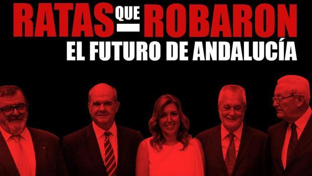 Imagen difundida desde el perfil oficial en Twitter de Nuevas Generaciones en Andalucía