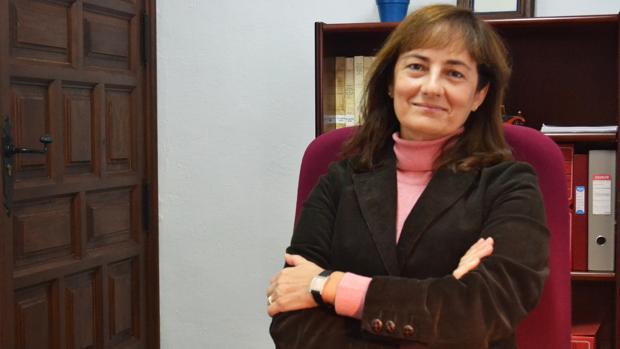 La doctora Marta María Manchado López
