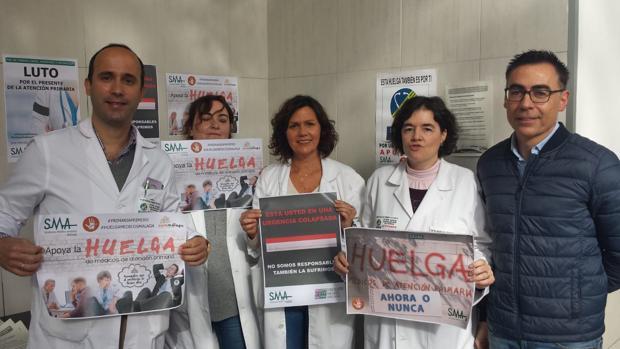 Médicos protestan por la situación de la Atención Primaria en el SAS