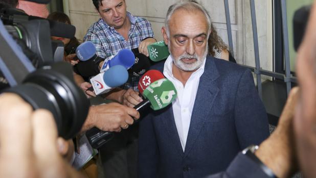 Fernando Villén, exdirector de la Faffe en los juzgados
