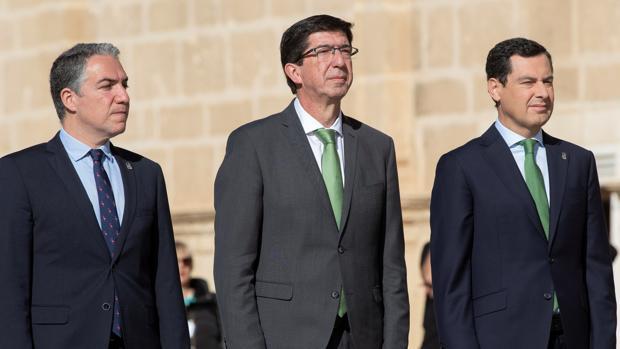 Bendodo, Marín y Moreno