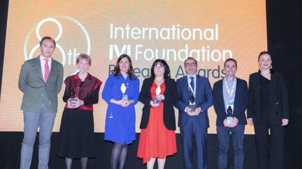 Los premiados en el evento, en una imagen facilitada por el Imibic