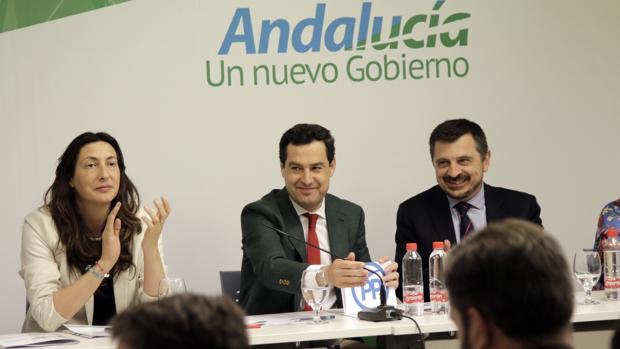 Juanma Moreno Bonilla preside la reunión del comité ejecutivo regional del PP andaluz