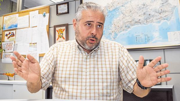 Juan Sánchez, director del Plan Infoca