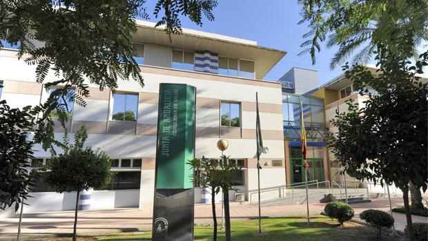 La sede de la consejería de Salud en Sevilla