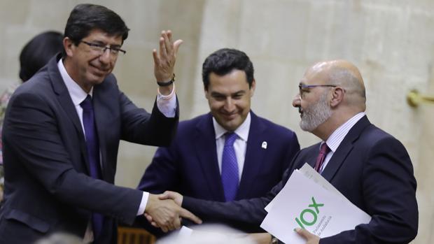 Debate en el Parlamento Andalucia sobre los presupuestos de 2019