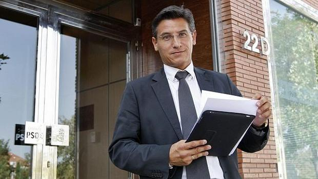 El lííder de Ciudadanos de Granada, Luis Salvador