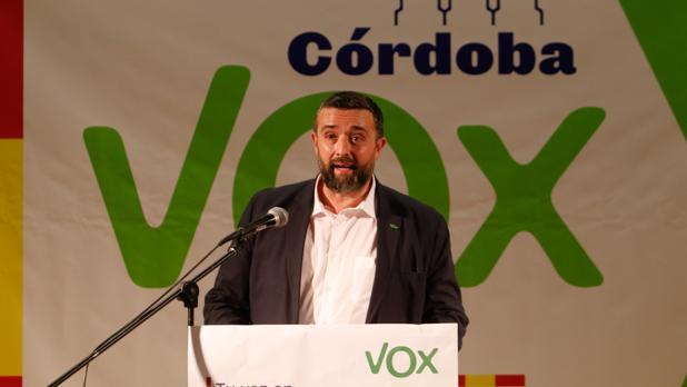 Portavoz del grupo Vox, Rafael Saco
