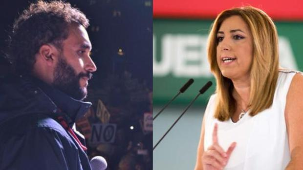 Susana Díaz ha reaccionado a la condena a Spiriman por injurias.