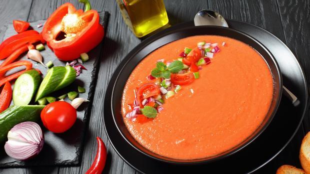 Los efectos antitumorales son mayores cuando el gazpacho es fresco.