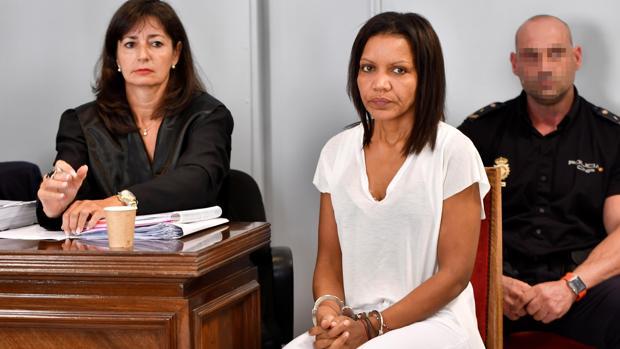 Ana Julia Quezada durante la primera sesión del juicio por la muerte de Gabriel Cruz