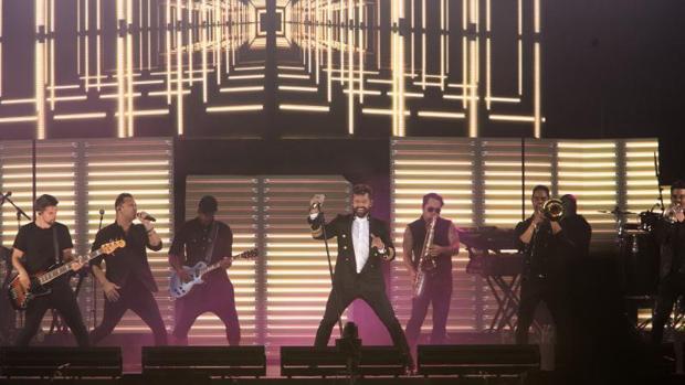 Concierto de Ricky Martin en septiembre del año pasado en Córdoba