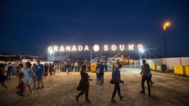 El festival Granada Sound se celebra en el recinto conocido como Cortijo del Conde.
