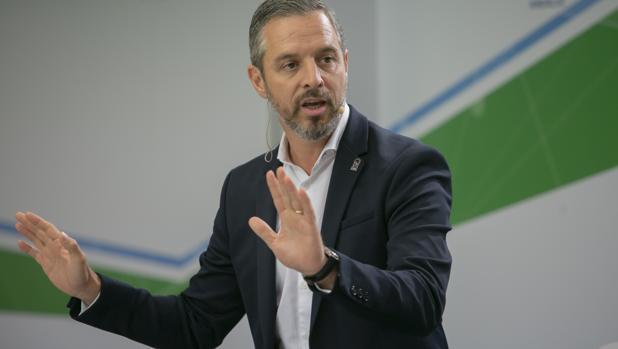 El consejero de Hacienda andaluz Juan Bravo